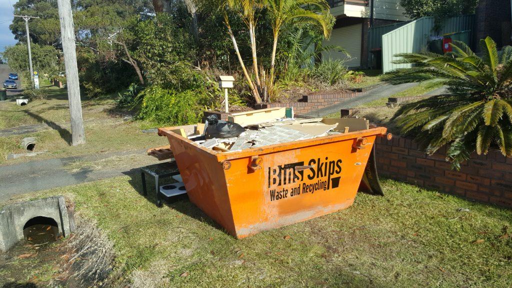 Контейнер для сбора строительного мусора