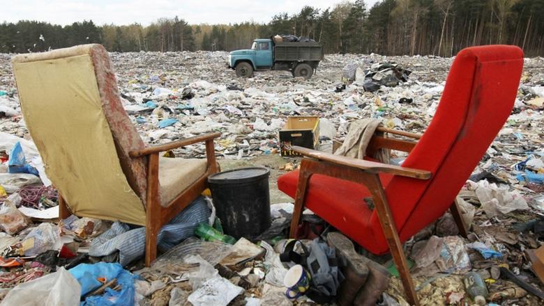 Фото мусорной свалки