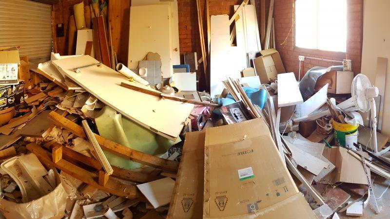 Строительный мусор в квартире