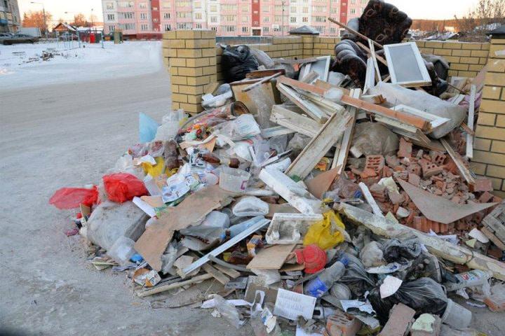 Самостоятельная утилизация строительного мусора — куда выбросить