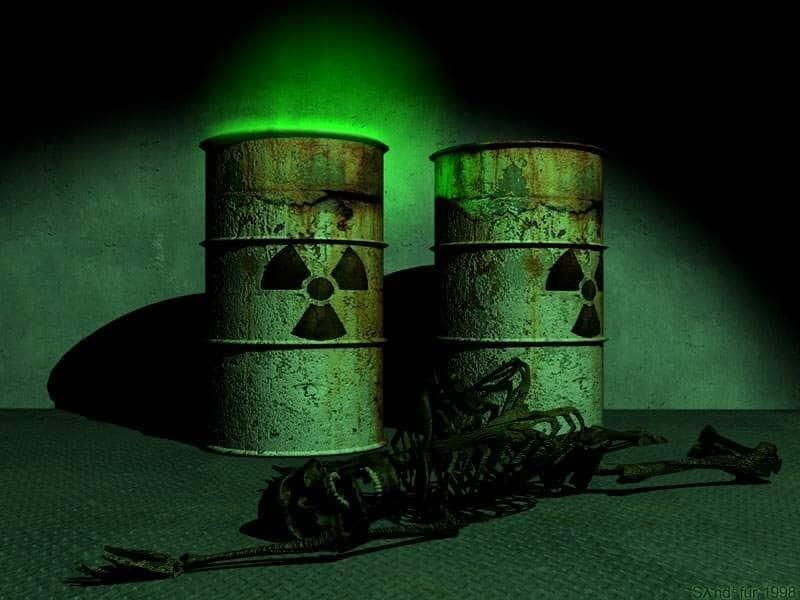 Старые могильники ядерных отходов