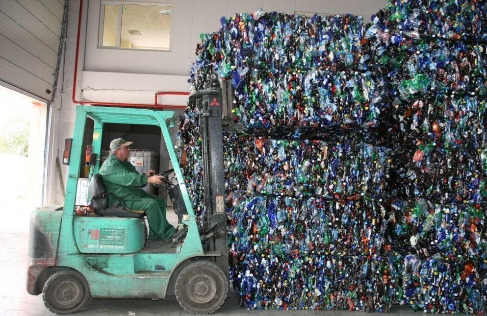 Подготовка пластика к утилизации