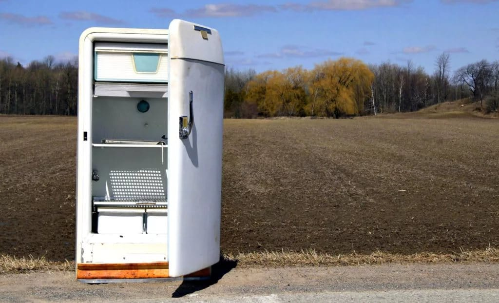Куда сдать старый холодильник на утилизацию