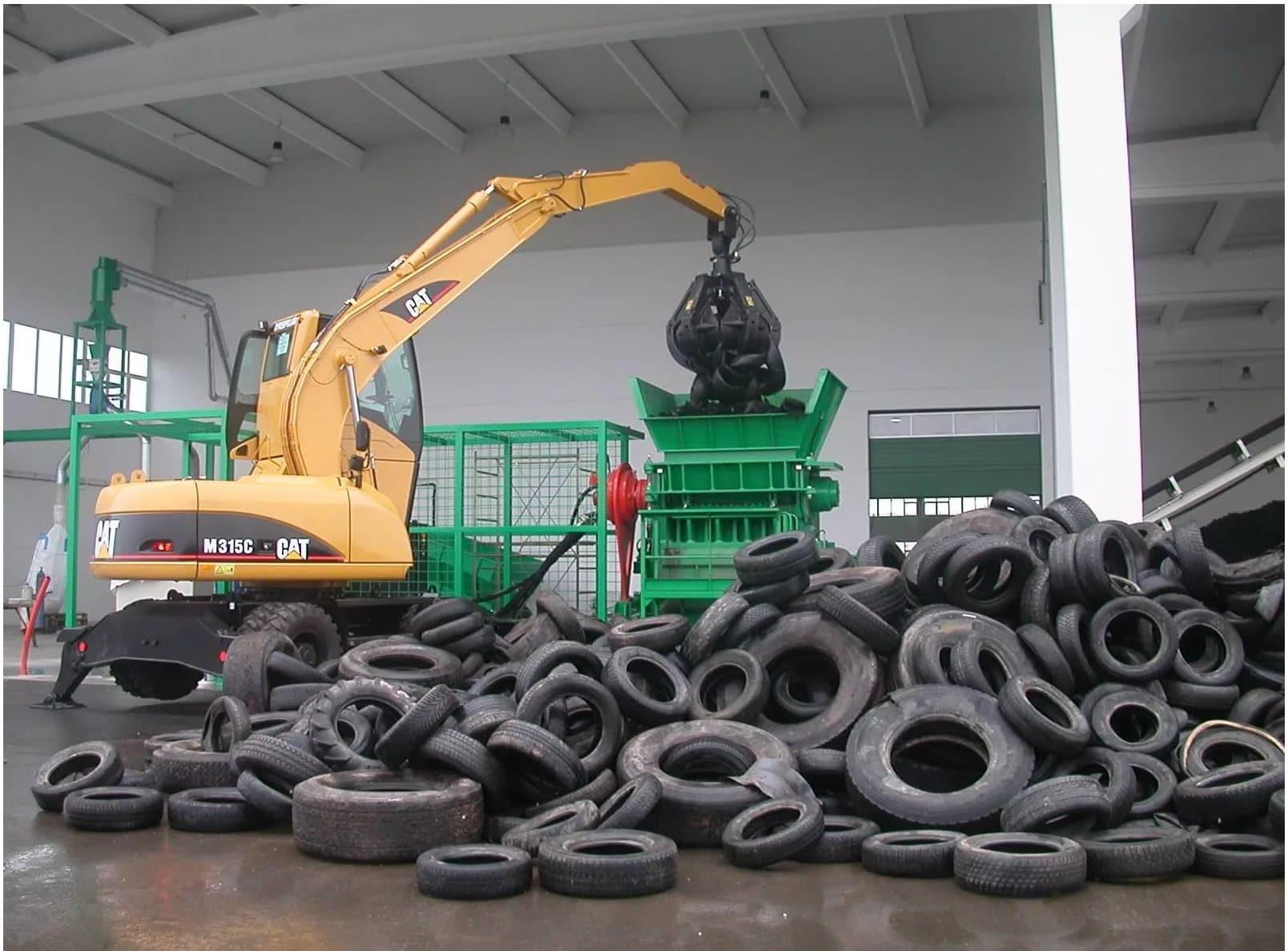 Задачи завода по утилизации и переработке шин