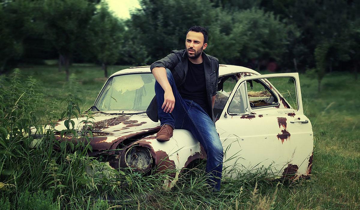 Владелец старого авто