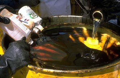 Польза от утилизации и переработки отработанного масла