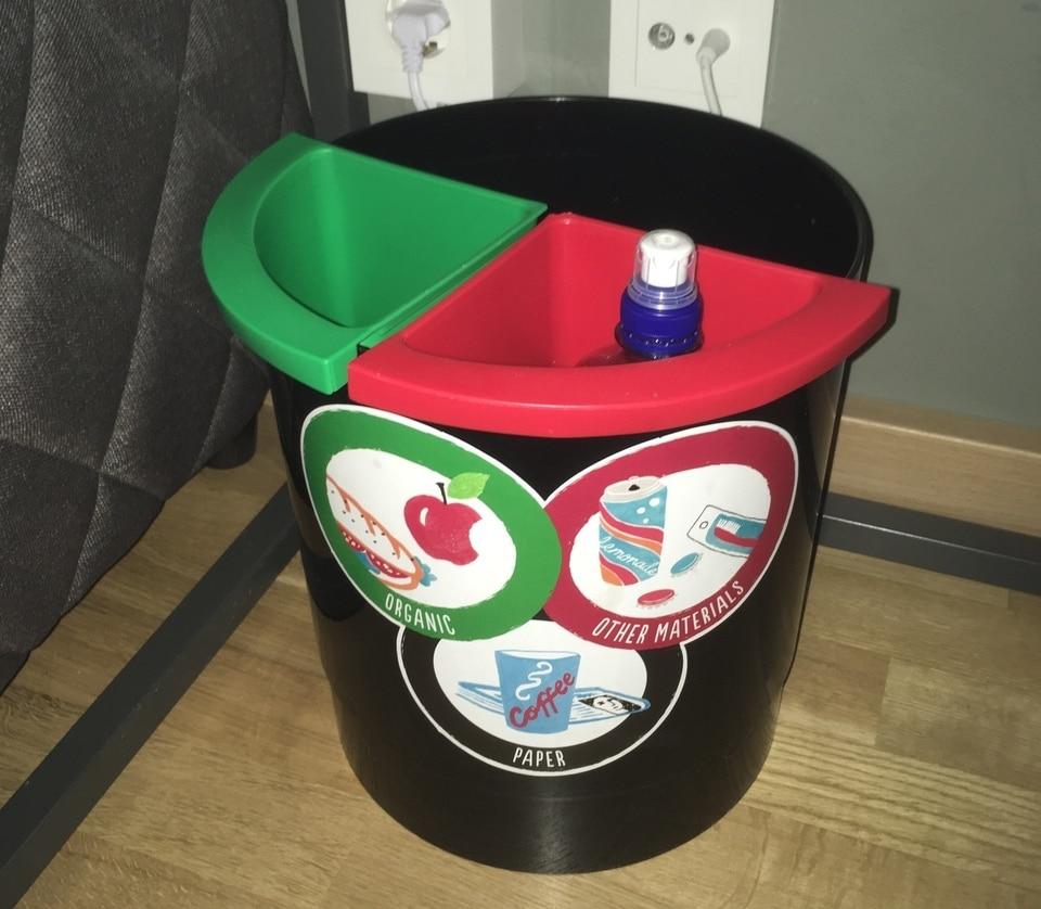 Система раздельного (селективного) сбора мусора на предприятии