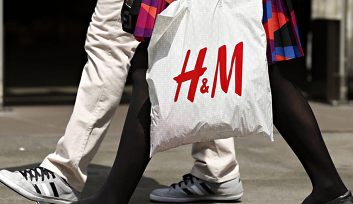 Фирменные пакеты H&M