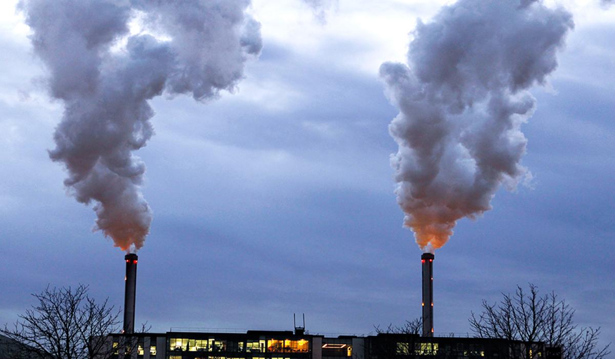 Мусоросжигательный завод вредный дым