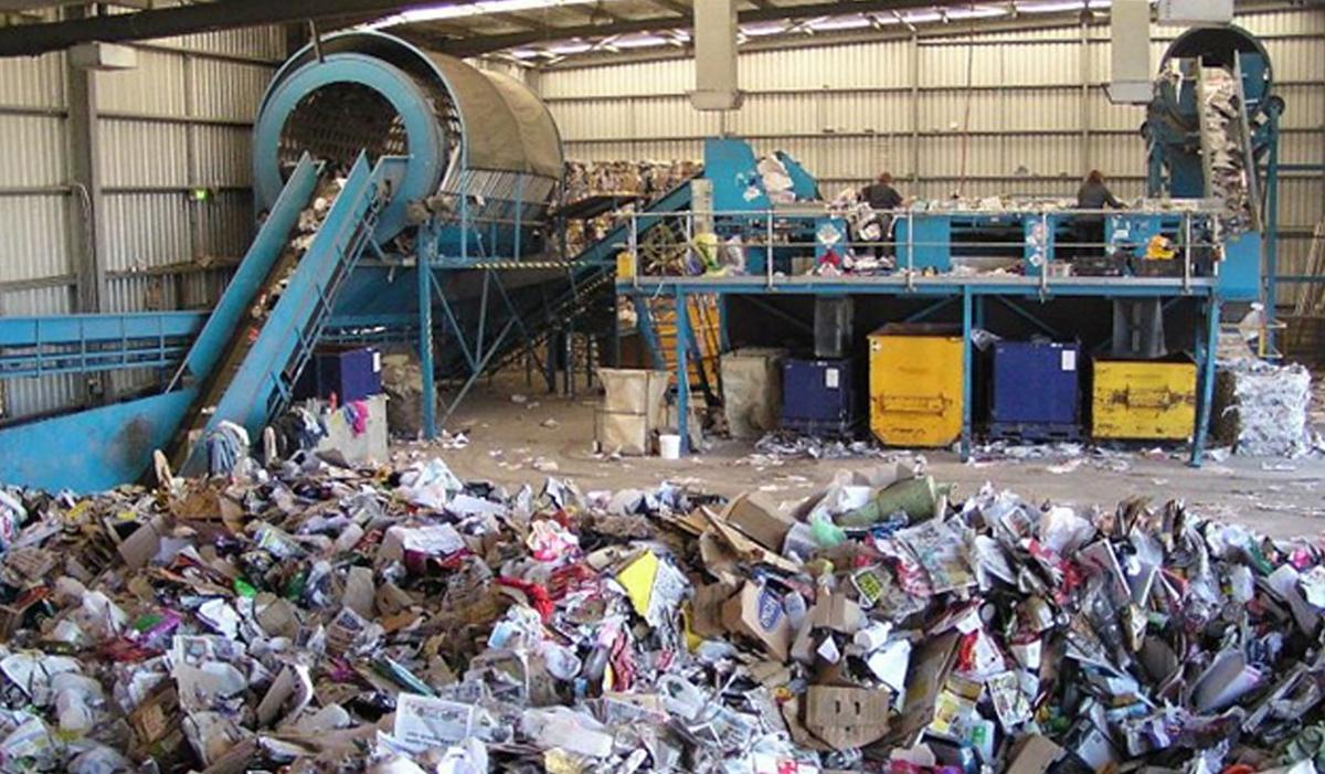 Комплекс по переработке мусора