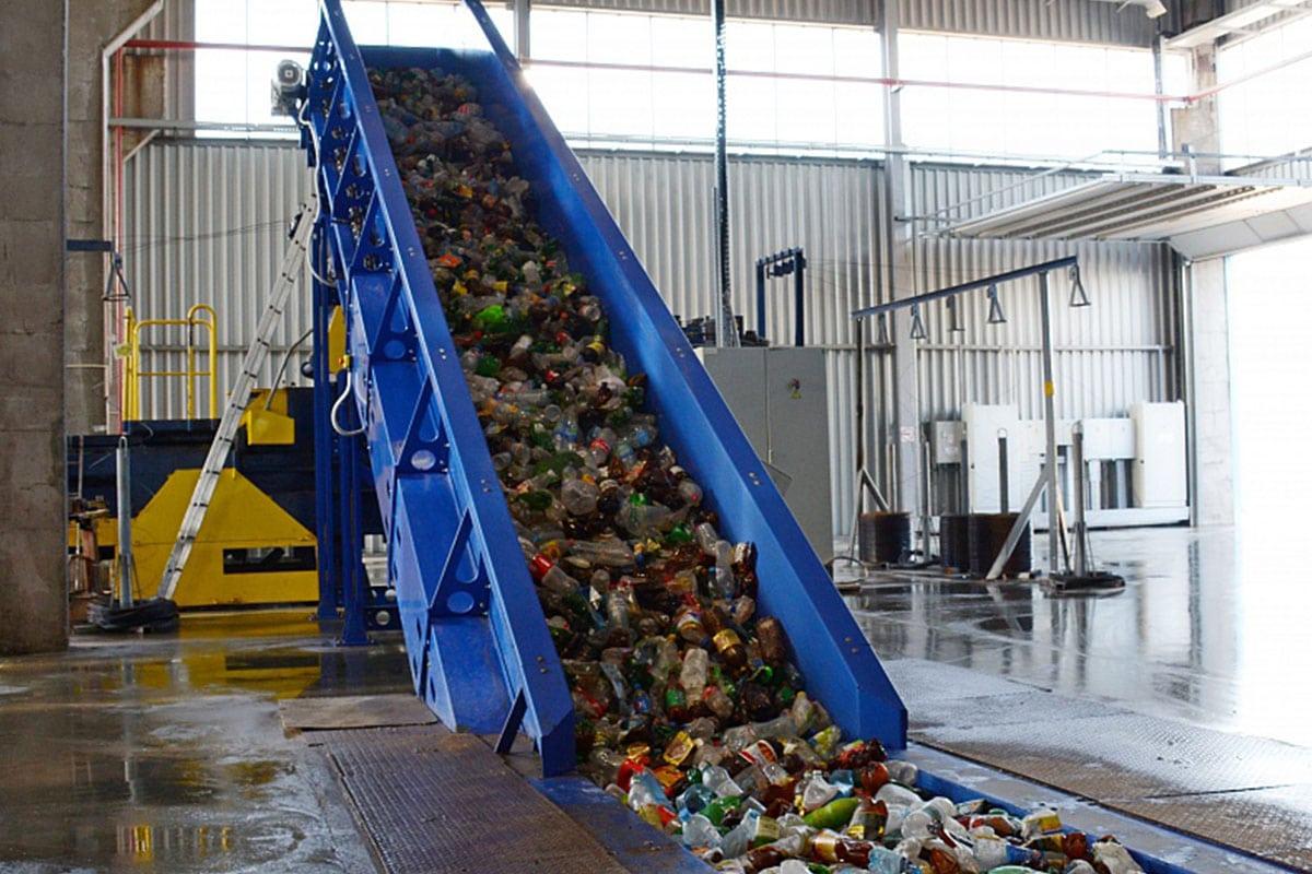 Станция для сортировки отходов