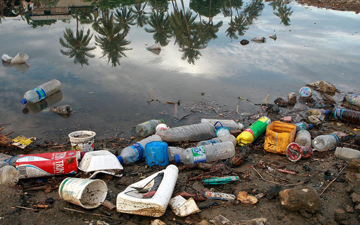 Экологический вред отходов