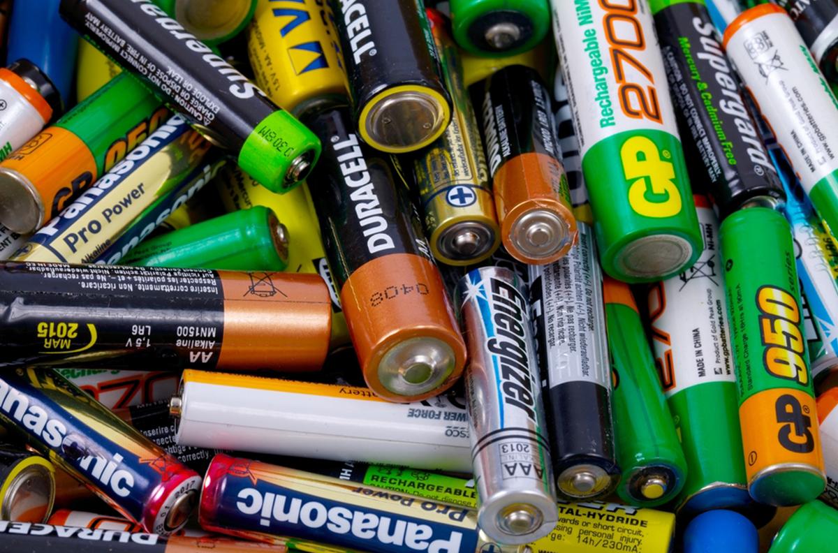 Отходы батареек
