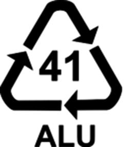 Код переработки алюминия