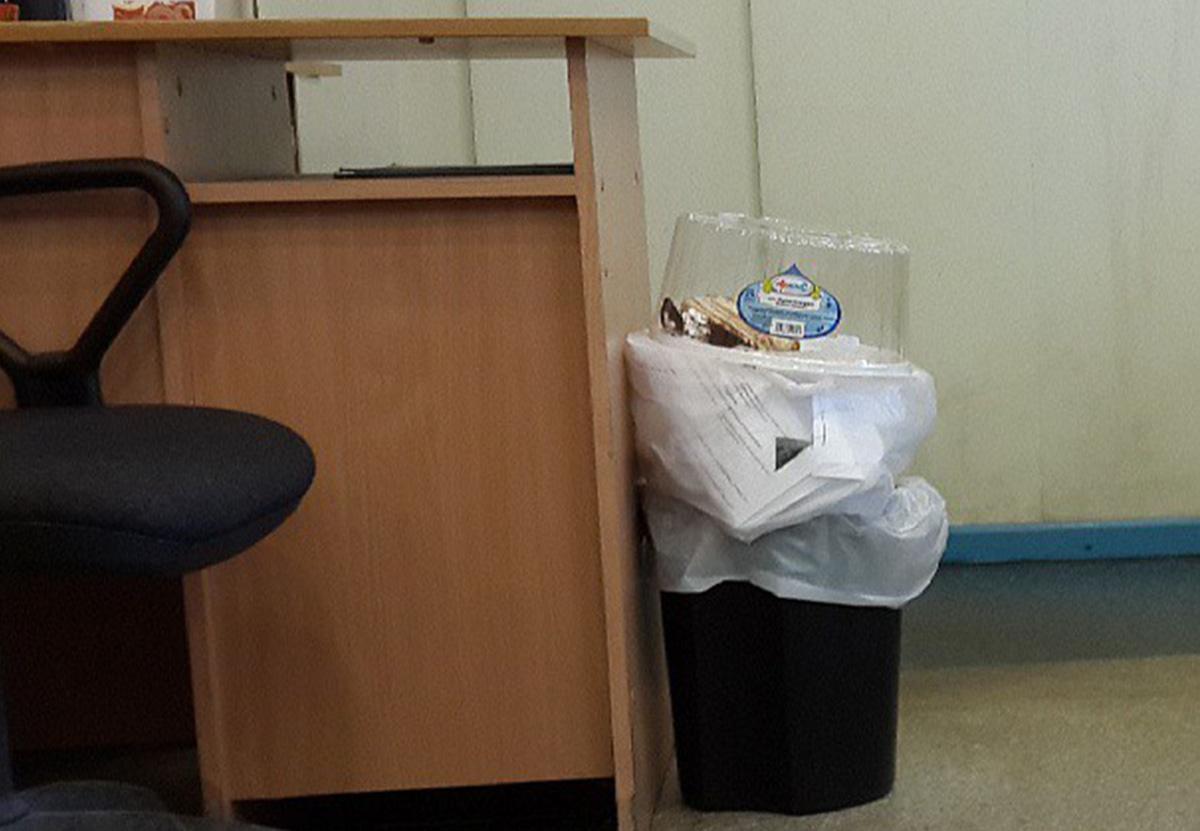 Код ФККО, расчет и плотность несортированного офисного мусора