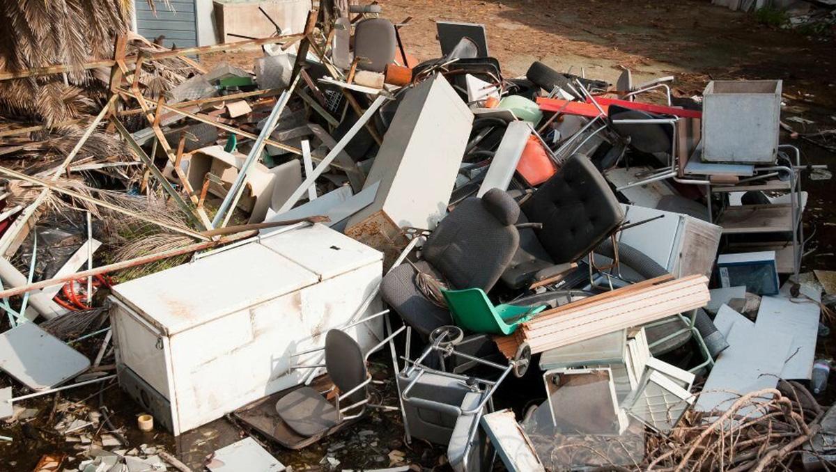Неопасный офисный мусор