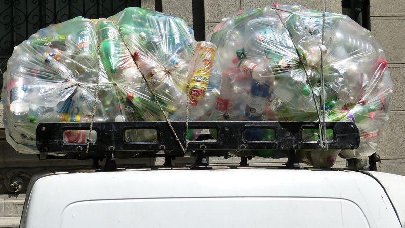 Пластиковые бутылки в утиль