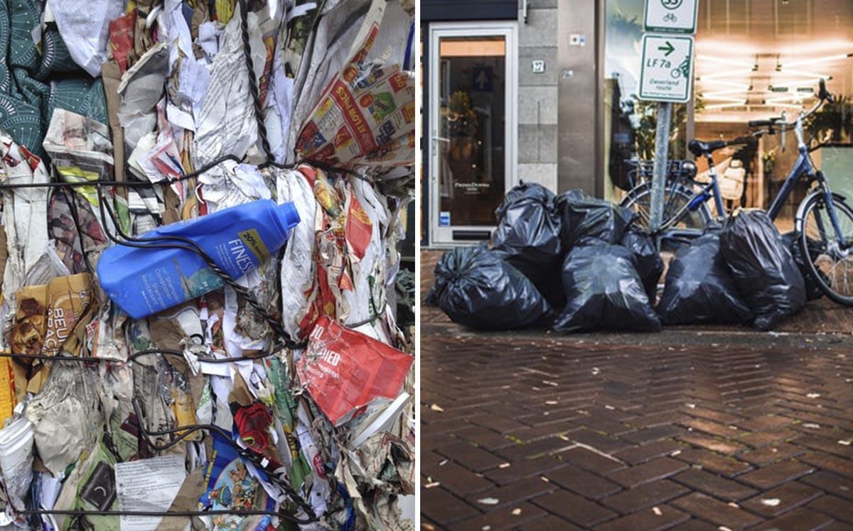 Прессованный мусор