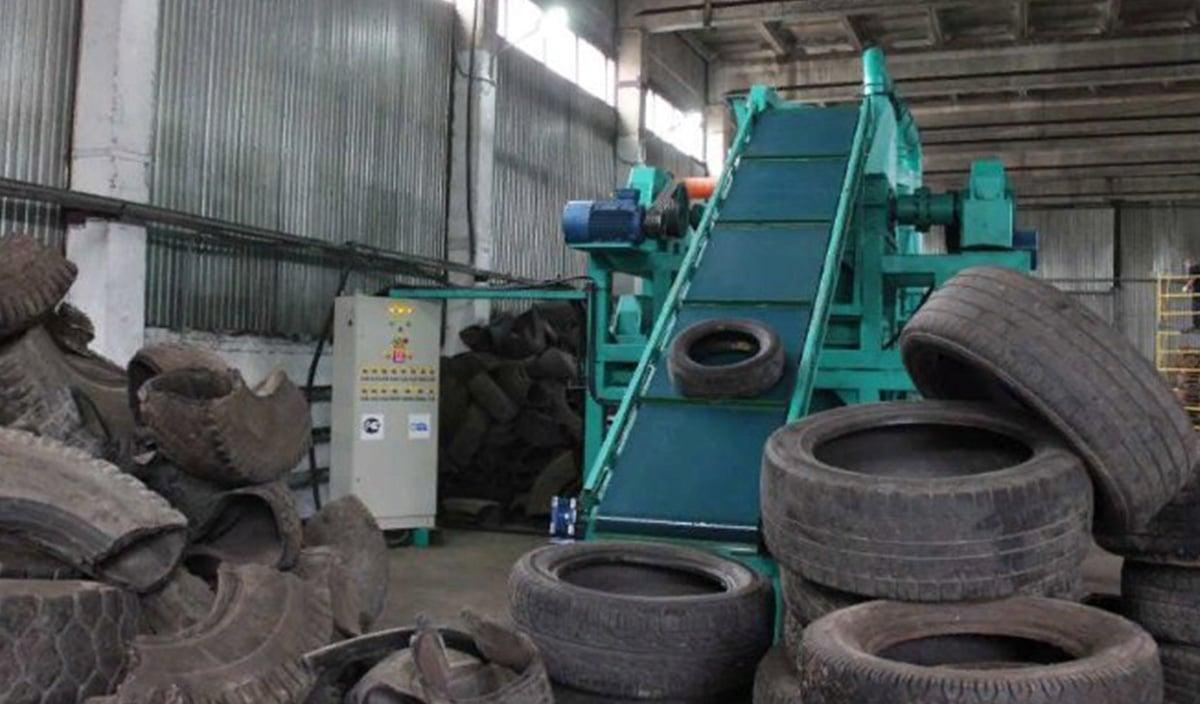 Метод переработки шин