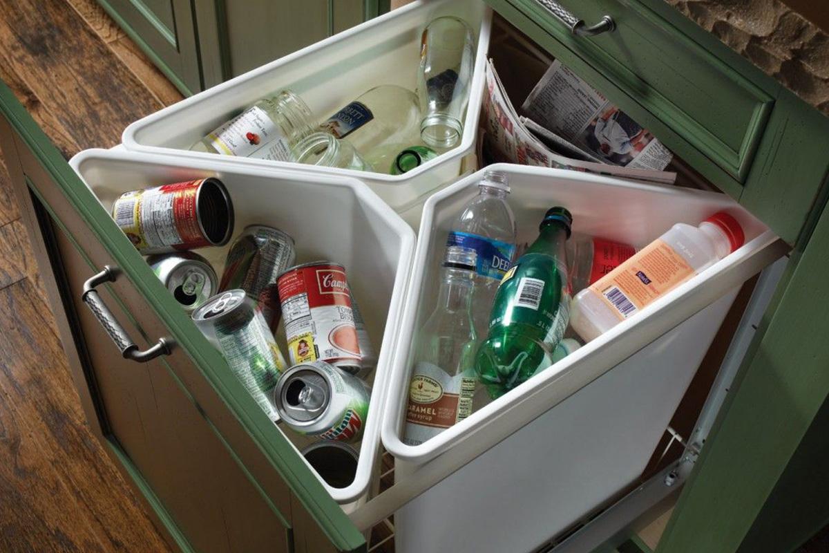 ТБО дома по типам мусора