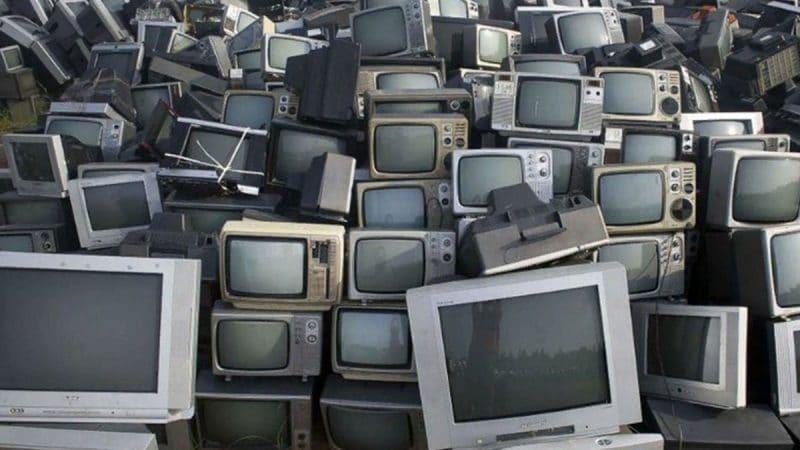 Утилизация старых телевизоров