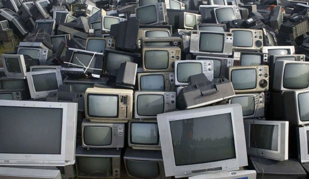 Способы утилизации старого телевизора с кинескопом и ЖК