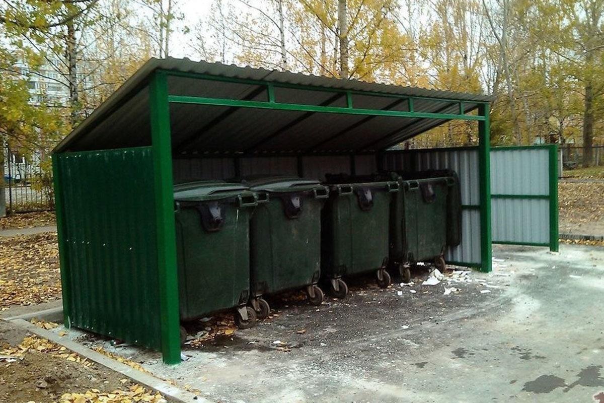 Площадка под мусорные контейнеры