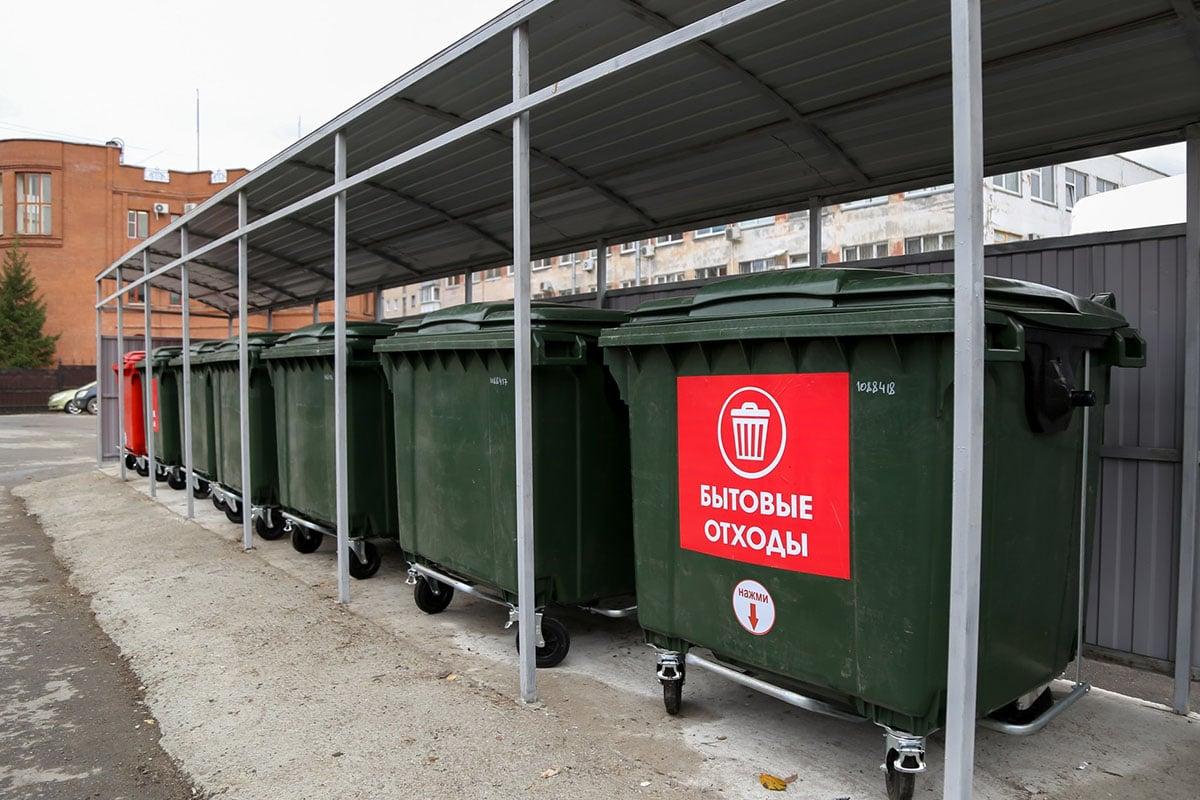 Санитарное содержание мусорных площадок