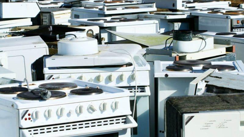 Утилизация газовых и электрических плит