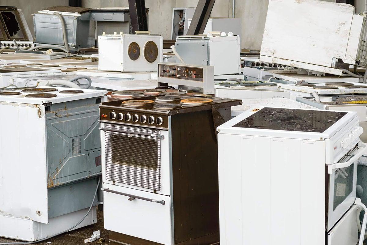 Правильная утилизация плит