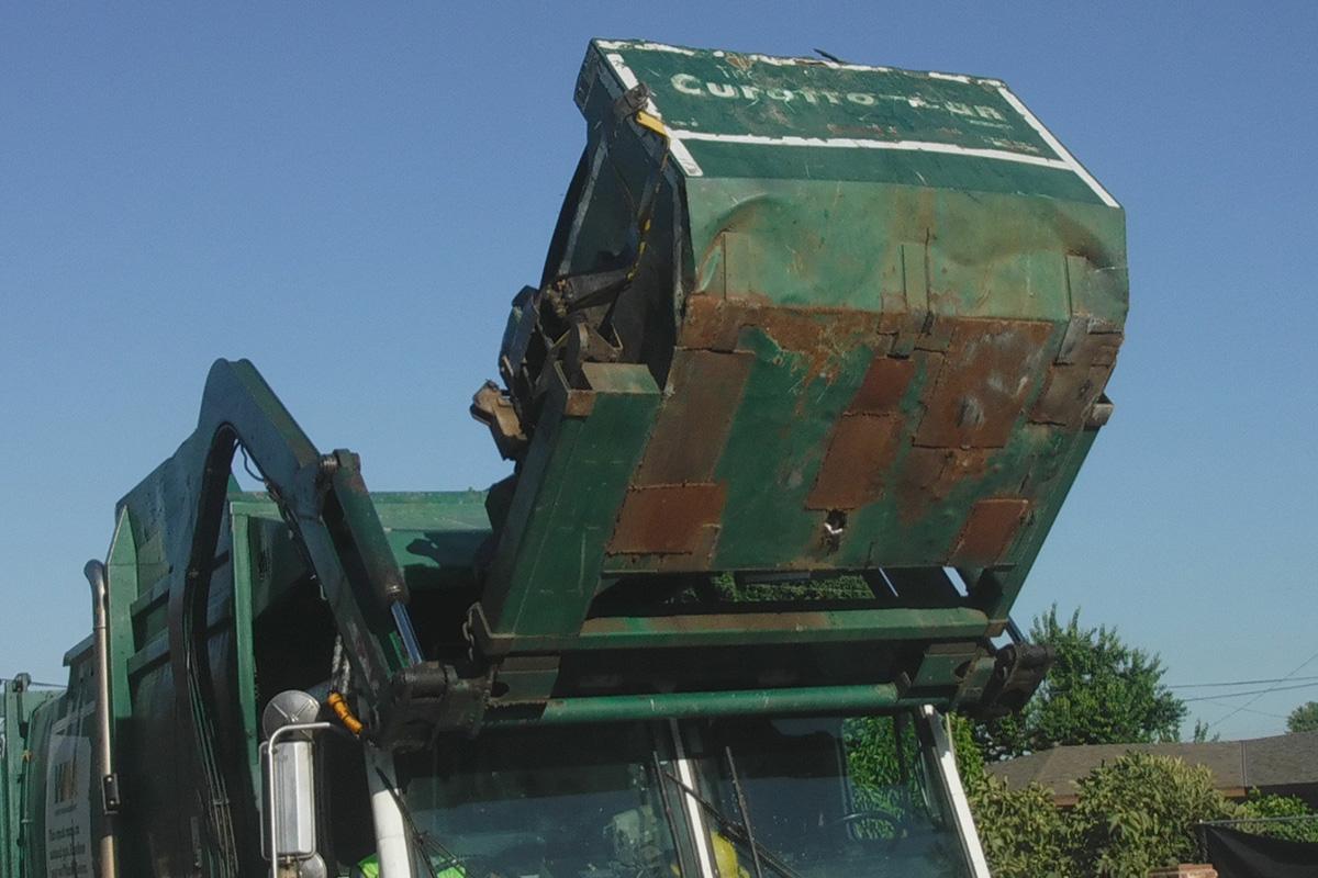 Транспортировка мусора