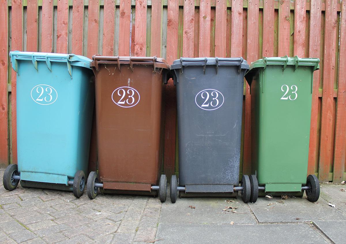 Место временного накопления отходов