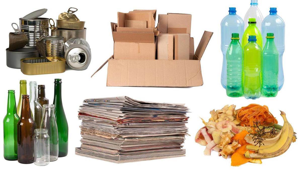 Какие виды мусора необходимо разделять