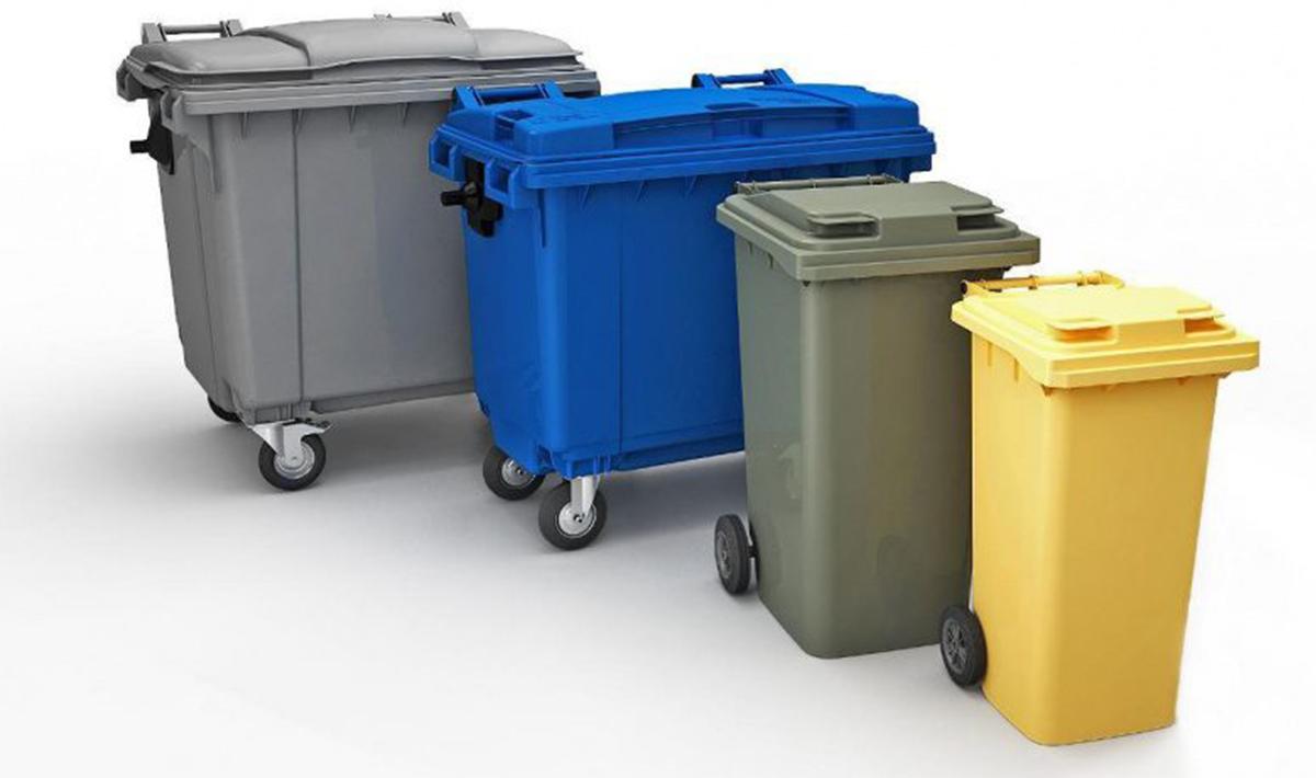 Размеры контейнеров для мусора