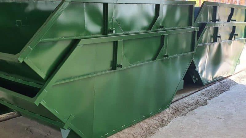 Мусорные контейнеры 8 м3