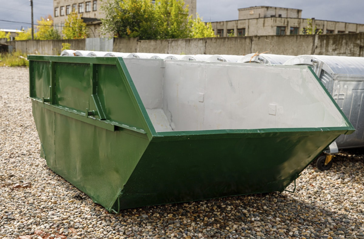 Мусорный бункер V-8 м3