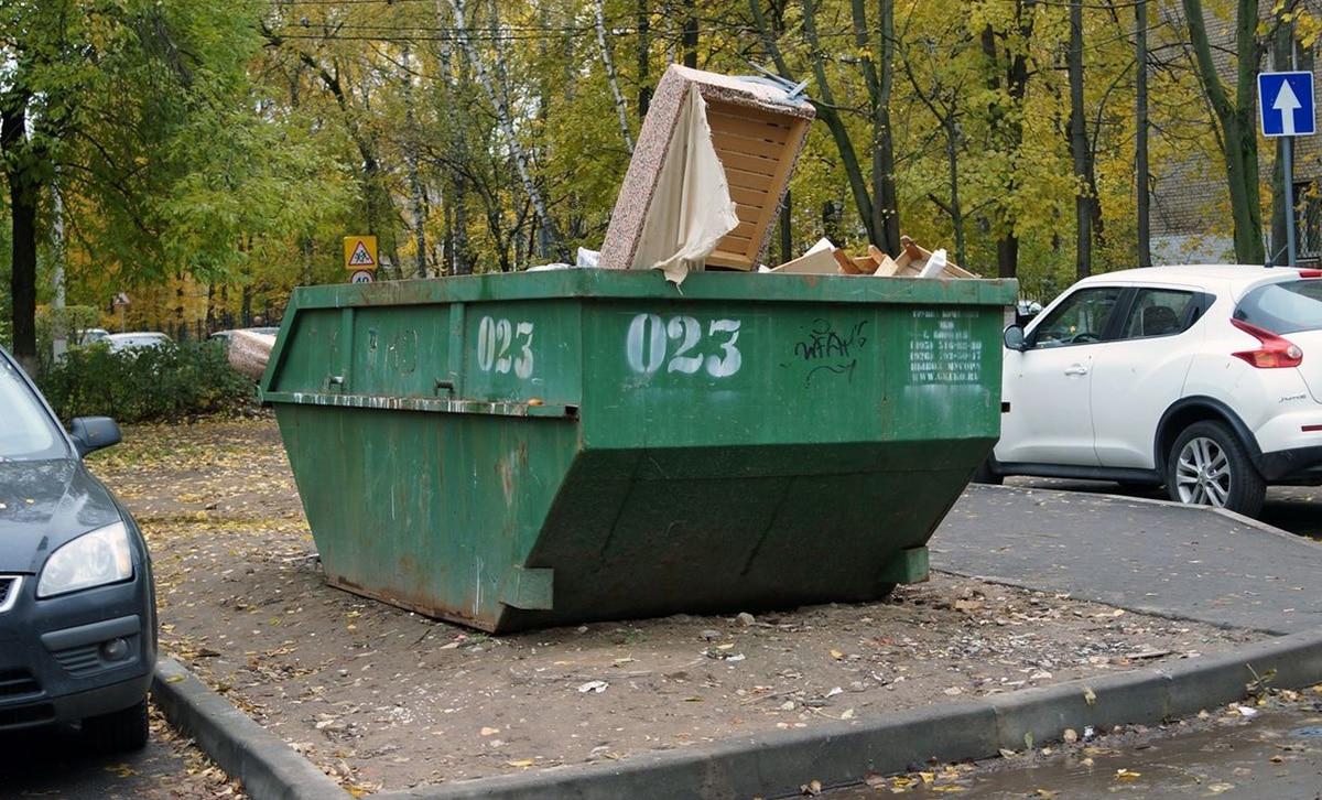 Контейнер для бытовых отходов