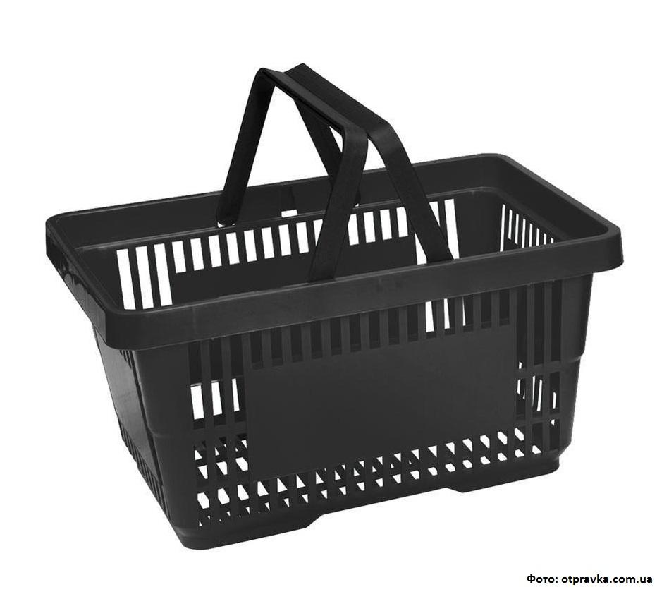 Чёрные корзины появятся скоро в супермаркетах