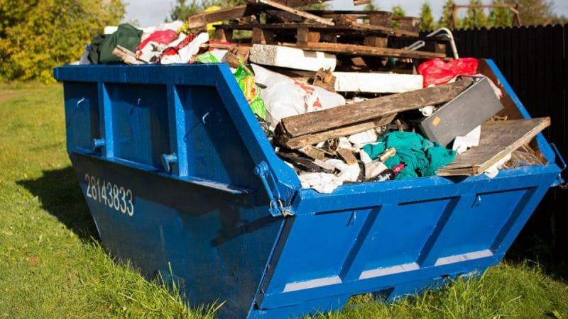 Контейнер для вывоза строительных отходов