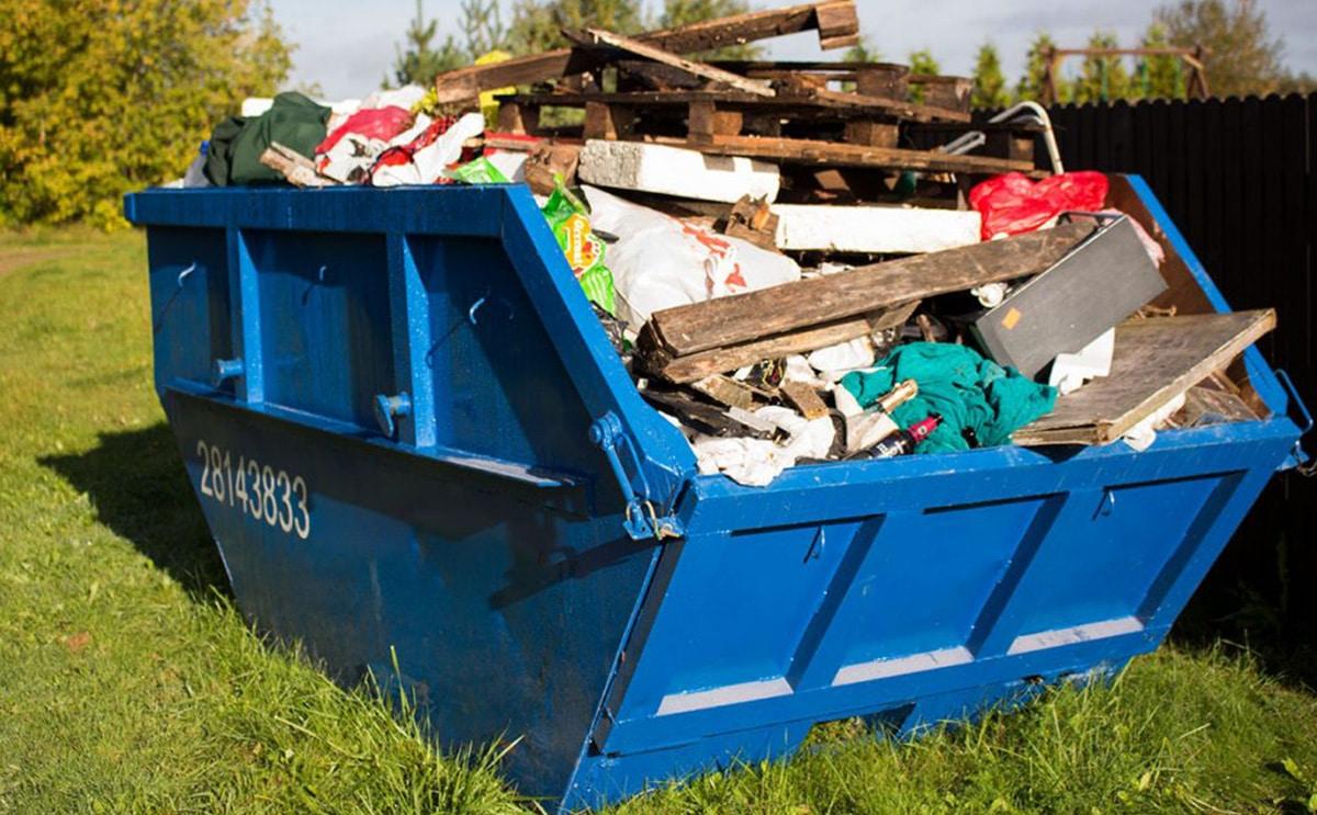 Контейнер для строительного мусора: сколько стоит, вывоз отходов ...