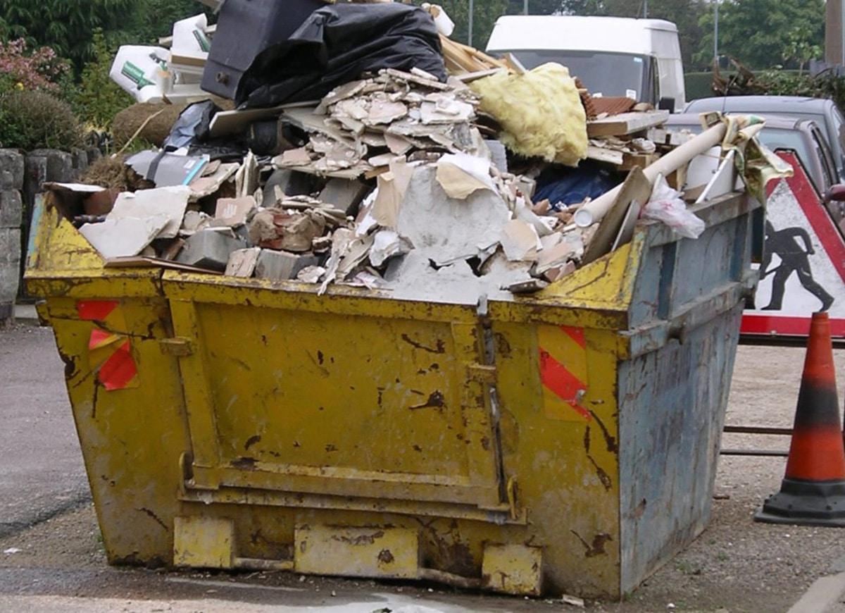 Отходы строительного мусора
