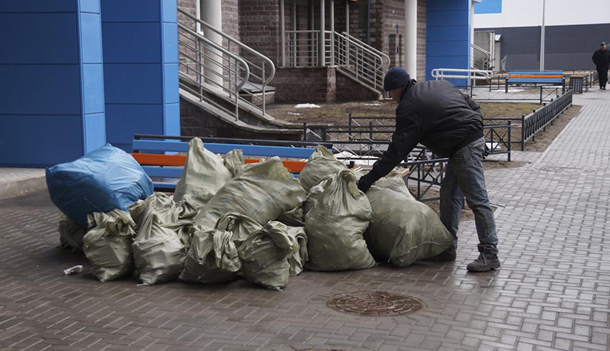 Какие мешки подходят для сбора строительного мусора — описание, виды