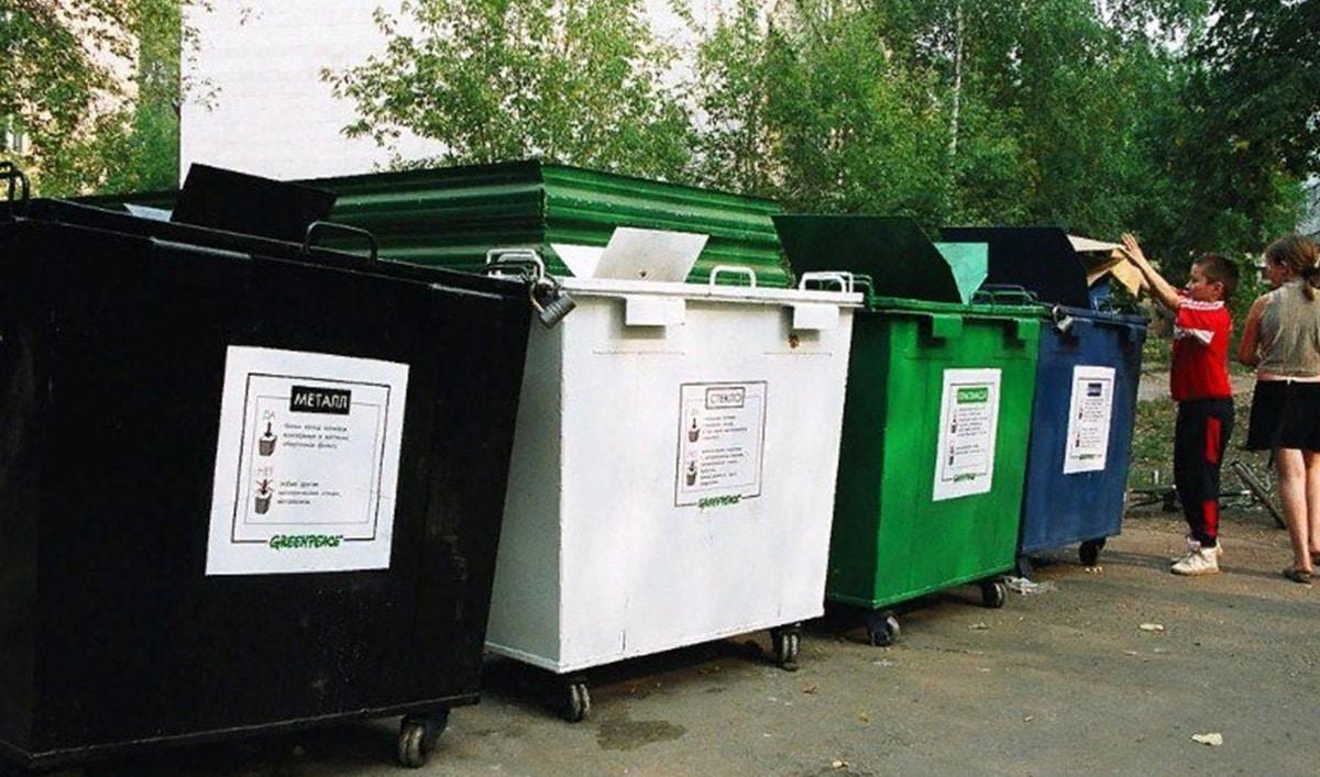 Все о металлических контейнерах с крышкой для ТКО