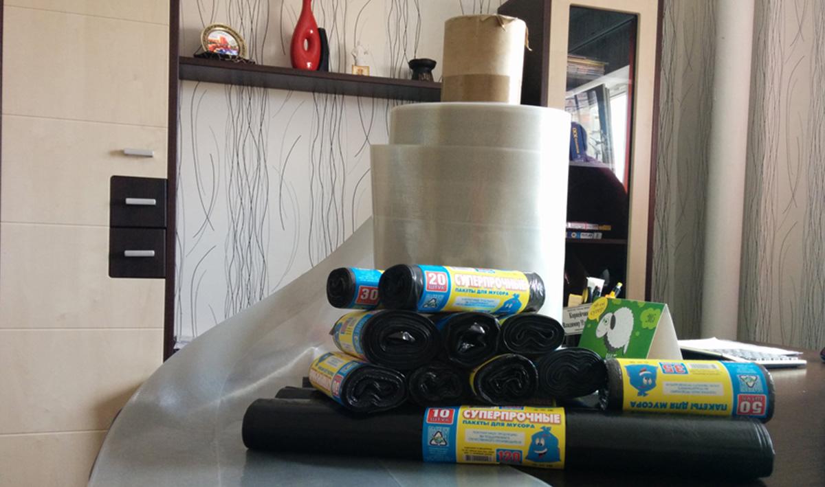 О мусорных пакетах на 120 л — какие бывают по крепости