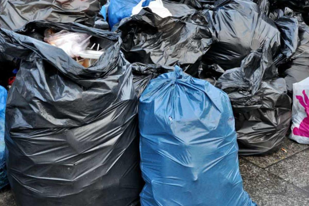 Большие мешки для мусора