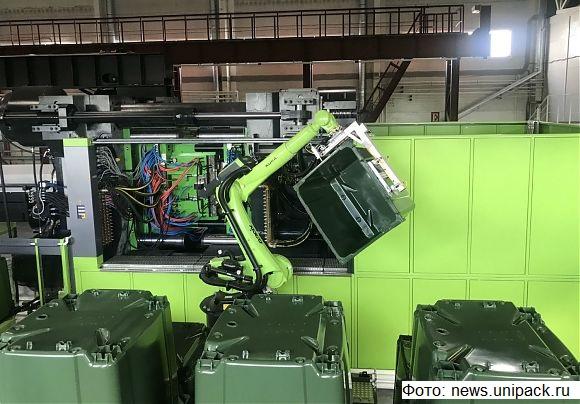 Азовский завод вдвое нарастил производство контейнеров для ТКО