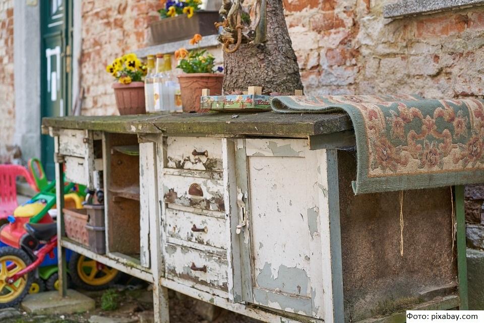 Переработкой старой мебели займутся на федеральном уровне