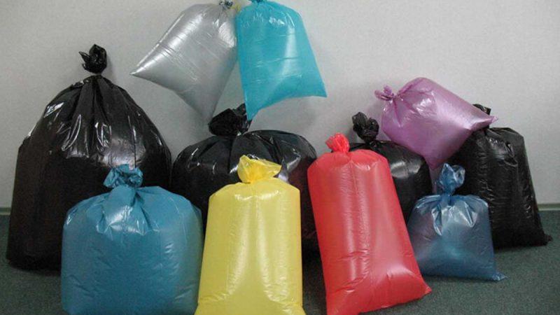 Разновидности мешков для мусора
