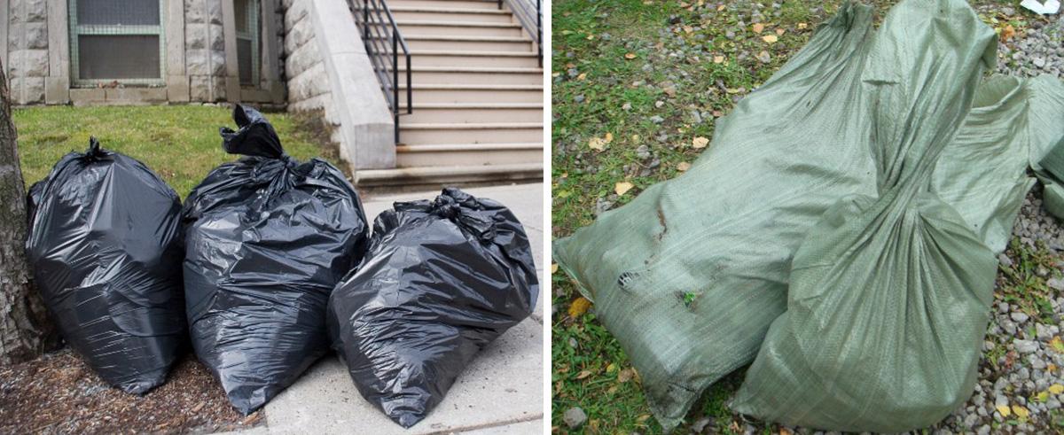Мешки для строительных отходов