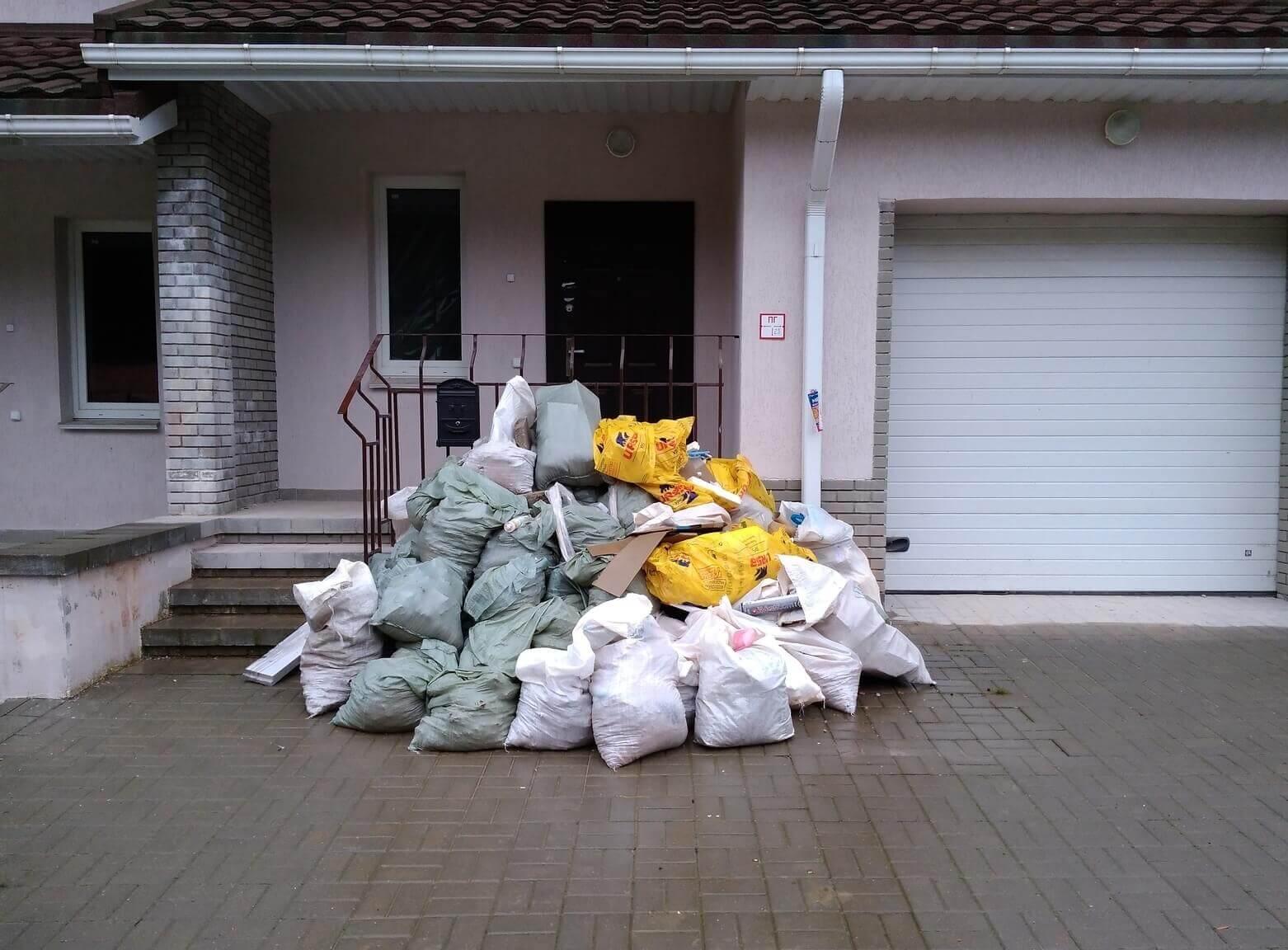 Вывоз мелкогабаритного мусора